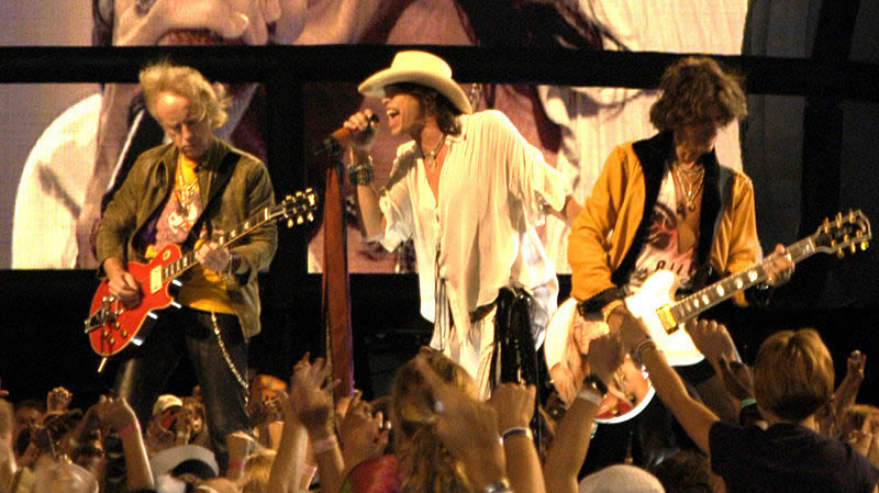Aerosmith in 2003.
