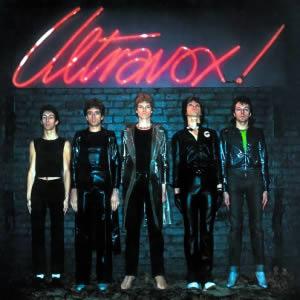 Album cover of Ultravox 1977.