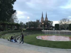 Hyde Park, Sydney.