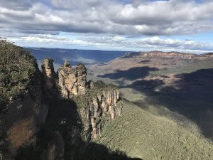 Blue Mountains National Park.