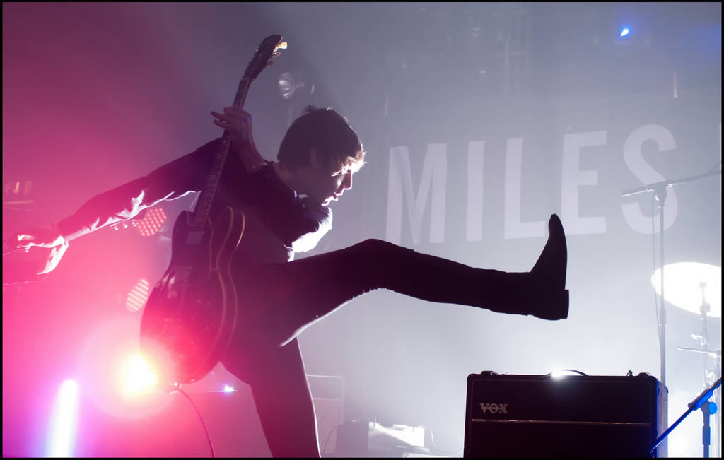 Miles Kane at Electric Ballroom (Camden) in 2011. Credit: James Berry (Flickr).