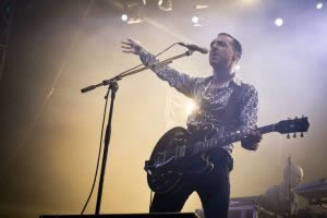 Miles Kane at Sziget in 2014.