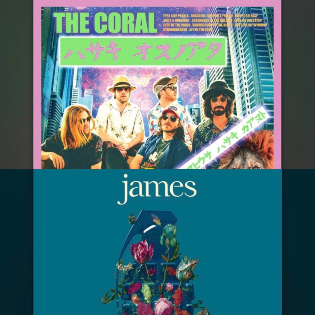 """New Releases (August Edition): """"Living in Extraordinary Times"""" by James and """"Move Through the Dawn"""" by The Coral"""